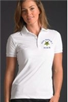 A Chapter Short Sleeve Pique Polo Shirt