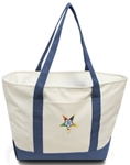 Bay View Tote with emblem