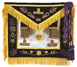 Masonic Grand Master Apron with Gold Metallic non-tarnish thread