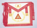 Royal Arch Masons Past High Priest Apron with Wreath