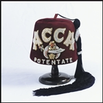 Queen of the South Fez with lettering