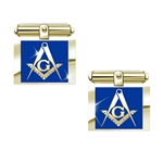 Masonic Blue Cuff Links