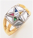 Order of the Eastern Star Ring Macoy Publishing Masonic Supply 3409