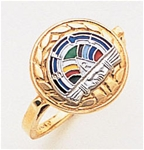 Rainbow Girls Ring Macoy Publishing Masonic Supply 3415