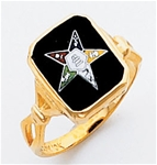 Order of the Eastern Star Ring Macoy Publishing Masonic Supply 3440