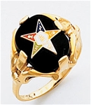 Order of the Eastern Star Ring Macoy Publishing Masonic Supply 3446
