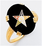 Order of the Eastern Star Ring Macoy Publishing Masonic Supply 3447
