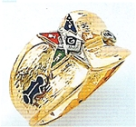 OES Past Patron Ring Macoy Publishing Masonic Supply 3454