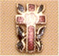 14K Gold Rose Croix 18 Degree