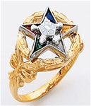 Order of the Eastern Star Ring Macoy Publishing Masonic Supply 5515