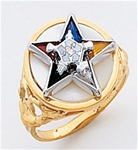 Order of the Eastern Star Ring Macoy Publishing Masonic Supply 5521