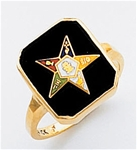 Order of the Eastern Star Ring Macoy Publishing Masonic Supply 5532