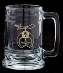Masonic 15 oz Stein with Gold Emblem