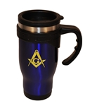 Masonic travel mug