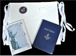 Masonic Apron, Book, Auto Emblem, Bible