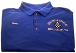 Akkadian Lodge No 1 Masonic Golf Shirt