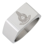 Stainless Steel Past Master Ring