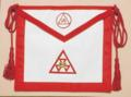 Satin New Jersey Regulation R.A.M. Past High Priest Apron