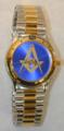 Masonic Roman 12 Watch W/Blue Face