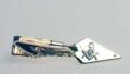 Masonic Trowel Tie Bar in gold tone