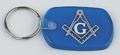 Masonic Key Tag Blue