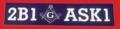 2B1 Aks 1 Bumper Sticker