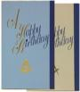 Birthday Card- Happy Birthday (Pk of 25)