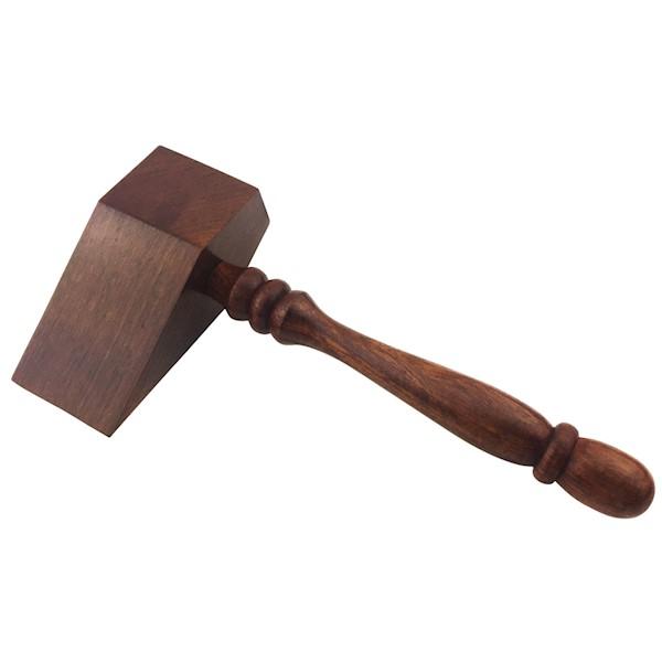 Masonic Gavel Wood Stone Hammer