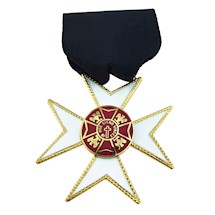 Knights of Malta Officer Jewels - Maltese Cross