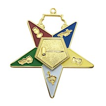 OES Officer Jewels Enameled - Set of 18