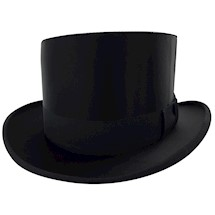 Masonic Master's High Silk Collapsible Top Hat