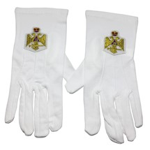 Scottish Rite 33 degree gloves