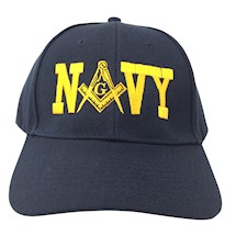 Masonic NAVY Ball Cap