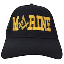 Masonic MARINE Ball Cap