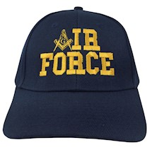 Masonic AIR FORCE Ball Cap