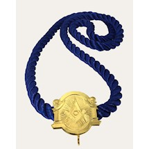 Masonic Jewel Hanger - Gold Square & Compass