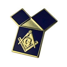 47th Problem of Euclid Masonic Pin