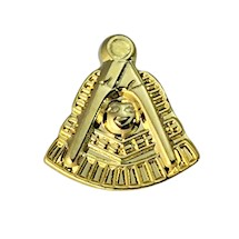 Past Master Lapel Pin  gold tone
