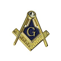 Masonic Lapel Button