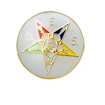 OES Lapel Button
