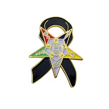 OES Mourning Pin