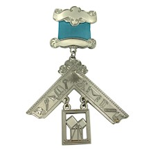 Silver plated Pennsylvania Past Master Jewel