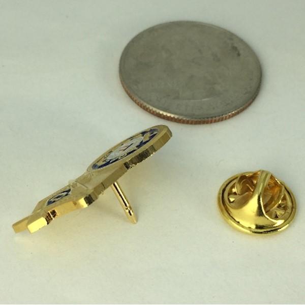 US Coast Guard & Masonic Lapel Pin