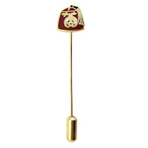 Red Fez Stick Pin