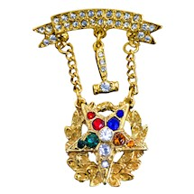 OES Past Matron Swinger Jewel
