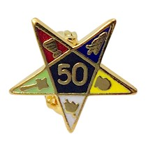 OES 50 year service pin