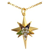 OES Grand Matron Star Necklace