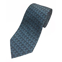'Optical Illusion Officer' Silk woven Masonic Premium Tie