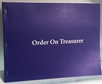 Masonic Order on Treasurer (Warrants)