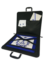 Masonic Apron Case - Black Economy